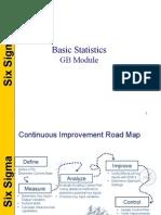 Six Sigma Basic Stats Module