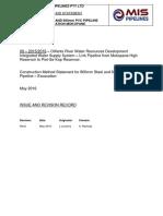 Method Statement - Excavation & Backfilling