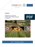 2017lebanon Evaluation Report3agricultural Projects