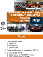 Rapid Disaster Assessment and Needs Analysis
