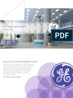 GE Lighting LightFair Brochure 2015