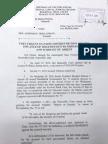 Ex Parte Motion and Warrant of Arrest vs Senator Antonio Trillanes IV
