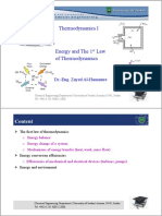Lec 4_Energy and the 1st Law of Thermodynamics