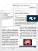 Pathophysiologic Perspectives on Muscle Tension Dysphonia