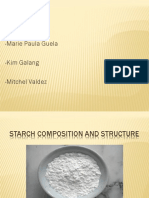 Starch Composition and Structure