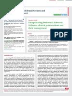 Encapsulating Peritoneal Sclerosis