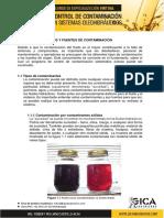 Tipos y Fuentes de Contaminación