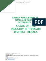Energy Management in Small and Medium Enterprises [www.writekraft.com]