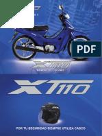 XT110 MOTO ITALIKA