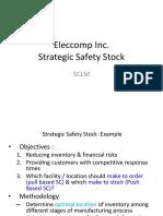 Strategic Safety Stock Ex