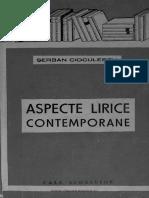 Aspecte lirice contemporane - Șerban Cioculescu.pdf