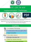 SSB Tax Implementation Challenges