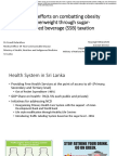 Excise Tax Systems and Administration in Asian - Sri Lanka