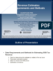 SSB Tax Challenges and Evidence on Potential Unintended Consequences