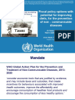 Empirical Evidence on the Impact of SSB Taxes on Consumption and Health