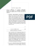 9. Mendoza and Enriquez vs. de Guzman, 52 Phil. 164, No. 28721 October 5, 1928 (Builder in Bad Faith)