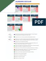 Calendario Curso Escolar 2018-19