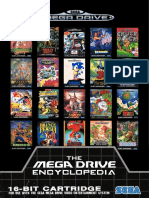 Sega Megadrive games catalogue