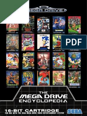 Sega Megadrive games catalogue | Video Game Consoles