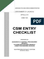 CSM Reentry