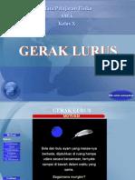 GerakLurus