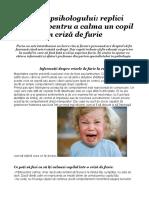 Sfatul psihologului - replici eficiente pentru a calma un copil în criză de furie.doc
