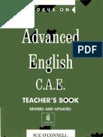 Focus on Advanced English - Teacher's Book