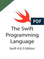 The Swift Programming Language