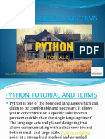 PYTHON TUTORIAL AND TERMS.pptx