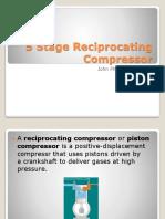 5 Stage Reciprocating Compressor