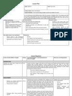 lesson plan 2 after excursion pdf