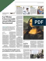 La Mona Lisa Esconde Un Problema Hormonal