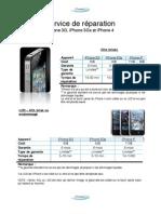Catalogue iPhone Repair