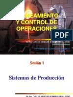Sesión 1 Sistemas de Producción