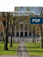 IELTS General Training Writing Test Sample Answers