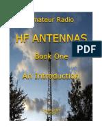 Amateur Radio Hf Antennas Book One an Introduction Sept 2015 Ed