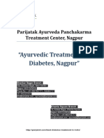 Ayurvediv Treatment for Diabetes