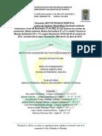 Plan de Área Humanidades Lengua Castellana e Idioma Extranjero
