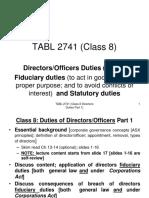 Directors Duties Part 1