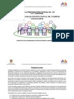 Plan de Trabajo Cuerpos Colegiados 2018-2019
