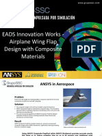 EADS Innovation Works - Airplane Wing Flap Design With Composite Materials Case Study Slide