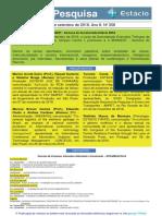 Boletim Pesquisa Nº 358 (03.09.2018)