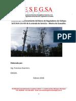 Informe Analisis de Datos de Regulacion y Potencia Reguladores Guacalito de La Isla