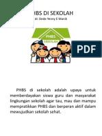 Phbs Di Sekolah - Dede
