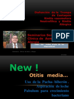 Uso del Biberón  Acostado y  la  Otitis  Media