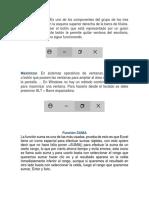 Funciones de Minimizar, Maximizar, Promedio y Suma.