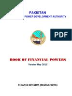 WAPDA Book Of Financial Powers (May 2016)