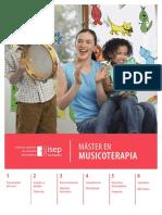Temario y objetivos Máster Musicoterapia