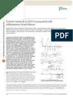 Genetic variation in DLG5is associated withinflammatory bowel disease
