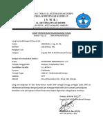 Surat Pernyataan Tugas